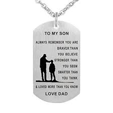 engraved dog tags for men to dog tag necklace mens jewelry