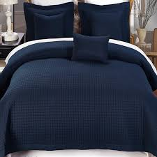 Coverlet Bedding Sets 4 Piece Navy Twin Xl Coverlet Set Free Shipping