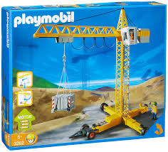 amazon com playmobil crane toys u0026 games