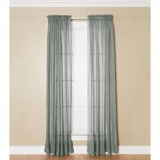 63 Inch Curtains Miller Curtains 63 Inch Rod Pocket Sheer Curtain Panel
