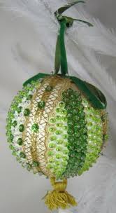 beaded ornaments vintage yahoo image search results