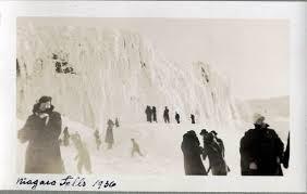 niagara falls frozen 1911 hoax