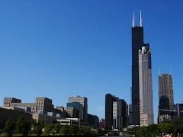 chicago willis sears tower the city from the top mapio net