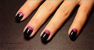 nail arts half moon nail designs fresh half moon manicure