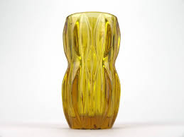 Vintage Yellow Glass Vase 47 Best Czech Glass Images On Pinterest Czech Glass Glass Vase
