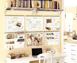 Organized Desk Ideas Office Design Binder Clips Office Space Organization Small