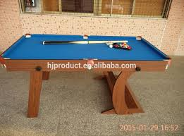 Folding Pool Table 8ft Factory Manufacturer High Quality Competitive Price Mdf Customized