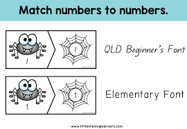halloween spider number puzzles 1 to 10 little lifelong learners