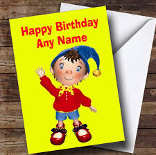 yellow noddy personalised children u0027s birthday card the card zoo
