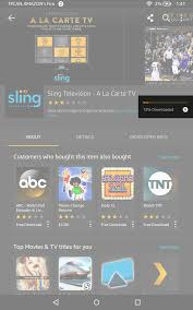 amazon black friday app how to alert for tvs faq how do i install sling tv on my amazon tablet