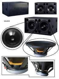 18 inch subwoofer home theater outdoor activity use pro sound speakers powered speaker subwoofer