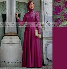 Baju Muslim Brokat 15 contoh model baju muslim brokat terbaru 2017 rancangan baju