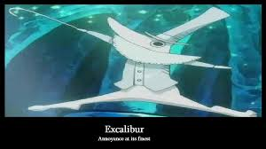 Excalibur Meme - soul eater excalibur by silenttounge77 on deviantart