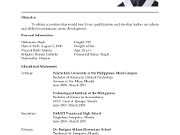 Imagerackus Foxy Resume For Hrm Ojt Students Resume With Beautiful College Student Resume Sample Philippines Gogetresume     Get Inspired with imagerack us
