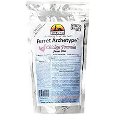 amazon com wysong ferret archetype chicken formula raw ferret
