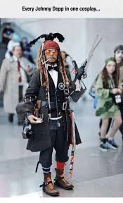 Meme Cosplay - every johnny depp in one cosplay johnny depp meme on me me