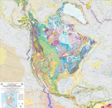 North America Map Detailed by Geologic Map Of North America