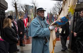 Flag Of Massachusetts State House Ceremony Marks 150th Anniversary Of Return Of Civil