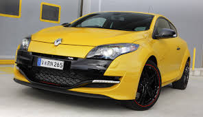 renault yellow renault megane rs 265 trophy introduced rm244k