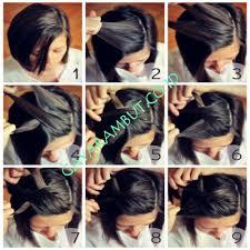 tutorial kepang rambut frozen 35 cara mengepang rambut pendek sebahu dengan mudah dan simple