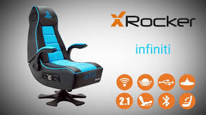 Rocking Gaming Chair X Rocker Infiniti Officially Licensed Playstation Gaming Chair