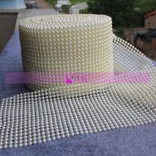 a illos de boda boda perla decoracion 10 yardas 20 rows de perla trapillo boda de
