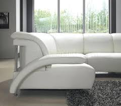 Sectional Sofa With Storage And Sleeper Lovely White Leather Contemporary Sofa Picture Gradfly Co