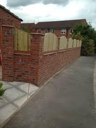 Curved Trellis Fence Panels Amc Landscaping Biddulph Staffordshire Congleton Cheshire
