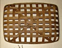 rectangular tobacco basket oblong wall basket for christmas