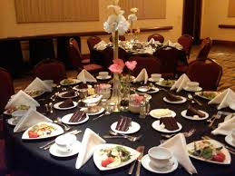 Informal Table Setting by Plated Meal Or Buffet Line Tp Events Planning U0026 Consulting