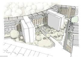 Floor Plan Buckingham Palace Outrage Over Plans To Demolish Grade I Listed Crescent Designed By