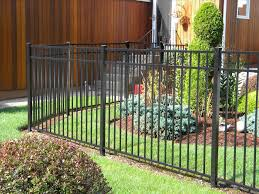metal garden fencing ideas home outdoor decoration