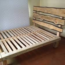 king size platform bed frame with platform bed plans and reclaimed