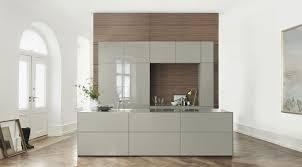 cuisines bulthaup contemporary kitchen stainless steel wood veneer island