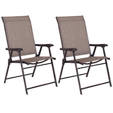 Patio Sling Chair Giantex Set Of 2 Patio Folding Sling Chairs Furniture
