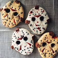Jason Halloween Mask by Friday The 13th Jason Voorhees Mask Sugar Cookied Recent
