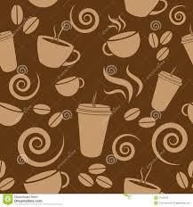 wallpaper coffee design dark brown coffee pattern stock vector illustration of beverage