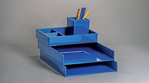 Blue Desk Accessories Designer Desk Accessories For A Stylish Office Bloomberg