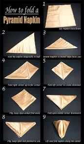 how to make table napkins 25 napkin folding techniques that will transform your dinner table