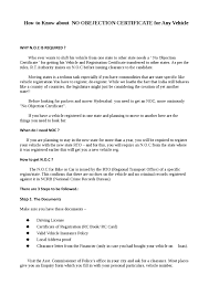 no objection certificate india format how to write a no objection letter image collections letter