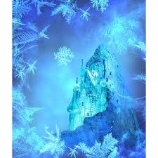 Castle Backdrop Frozen Castle Printed Backdrop Backdrop Express