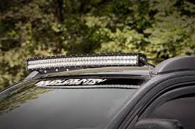Best Light Bars For Trucks 40in Curved Led Light Bar Roof Rack Mounting Brackets For 05 15