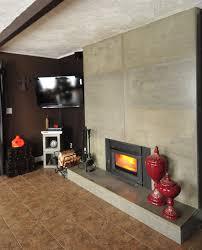 living room fireplace refacing design for modern living room