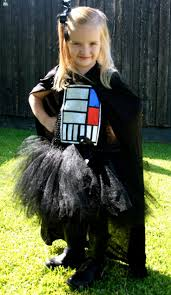 darth vader inspired tutu costume star wars halloween birthday