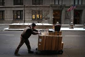 ups fedex want retailers to get real on shipping wsj