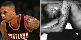 the meanings the 12 coolest tattoos in the nba