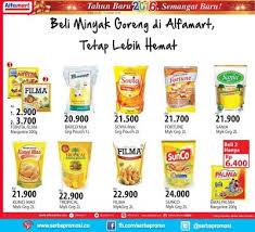 Minyak Goreng Tropical Di Alfamart alfamart promosi minyak goreng murah hingga 15 januari 2016