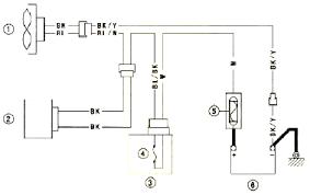 schematic u0026 wiring diagram kawasaki zrx1200 radiator fan circuit