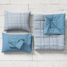 Light Blue Twin Comforter Twin Plaid Bedding Pbteen