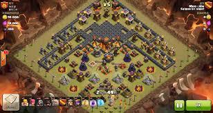 clash of clans hog rider image clash of clans th10 vs th10 golem wizard witch hog rider